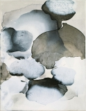 Staining_oil, ink/linen, 51x39cm/20x15.5in