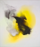 Staining_oil, ink/linen, 178x152cm/70x60in