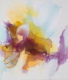 Imbuing, Oil,ink/linen,178x152cm/70x60in