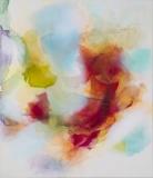 Imbuing, Oil, ink/linen, 178x152cm/70x60inch