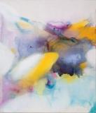 Imbuing, 0817_061, Oil, ink/linen, 178x152cm/70x60inch