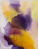 Imbuing 0817_065, Oil, ink/Linen, 51x40cm/20x16in